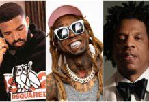 Drake Lil Wayne Jay Z record sales