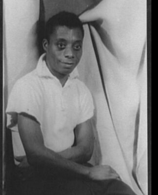 James Baldwin portrait Library of Congress