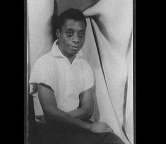 James Baldwin portrait Library of Congress