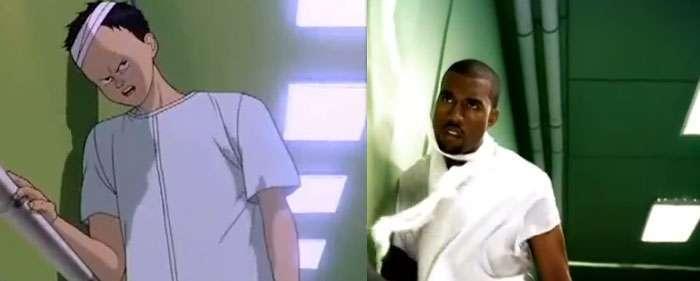 Kanye Stronger Akira anime in hip-hop