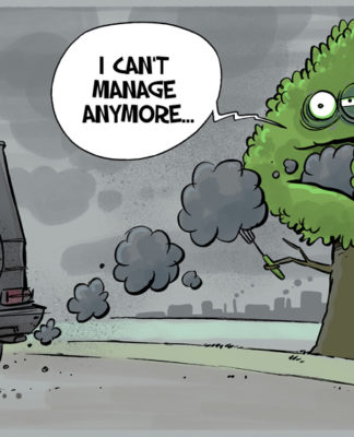 Air Pollution Cartoon Erizon Environmental Guide