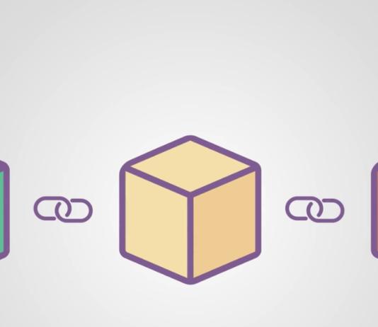 Blockchain Illustration Simple