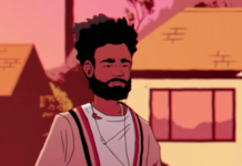 Donald Glover Folk Artist