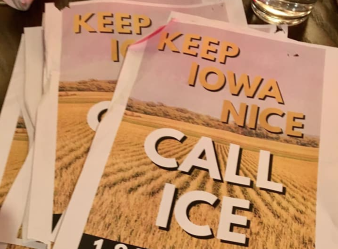 Iowa Nice ICE Ad Agree To Disagree Politics