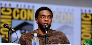 Chadwick Boseman In Memory Of Comic Con