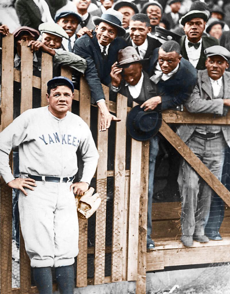 Babe Ruth Black Fans Negro Leagues Josh Gibson