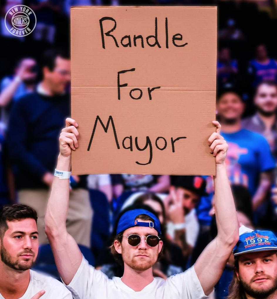 Knicks Fan Delusional
