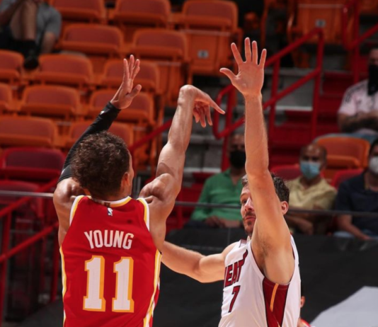 Trae Young Shooting 3